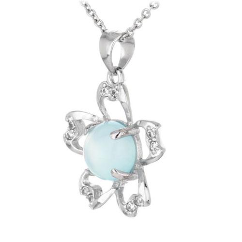 pendentif femme argent zirconium diamant 8300340 pic2