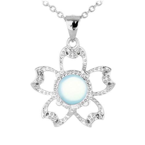 pendentif femme argent zirconium diamant 8300340 pic3