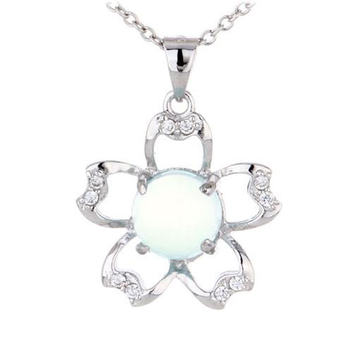pendentif femme argent zirconium diamant 8300340