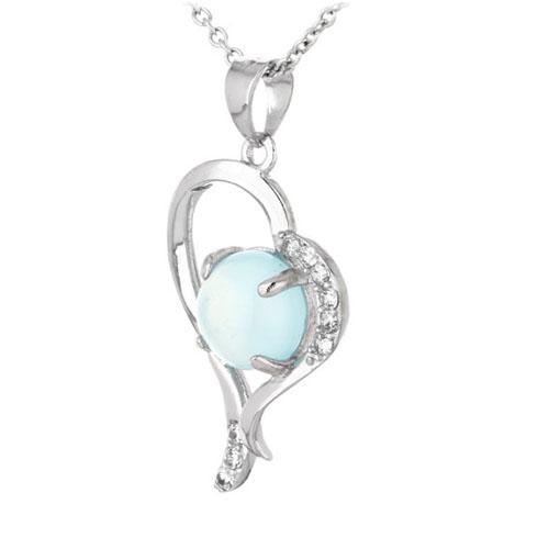 pendentif femme argent zirconium diamant 8300341 pic2