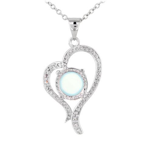 pendentif femme argent zirconium diamant 8300341 pic3