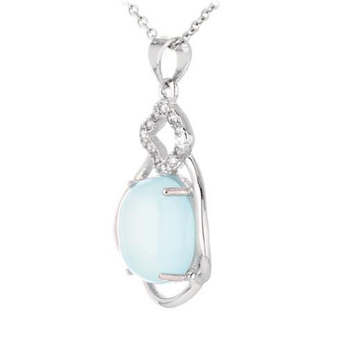 pendentif femme argent zirconium diamant 8300342 pic2