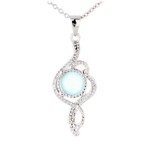 pendentif femme argent zirconium diamant 8300343 pic3