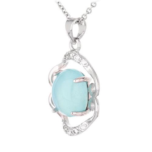 pendentif femme argent zirconium diamant 8300344 pic2