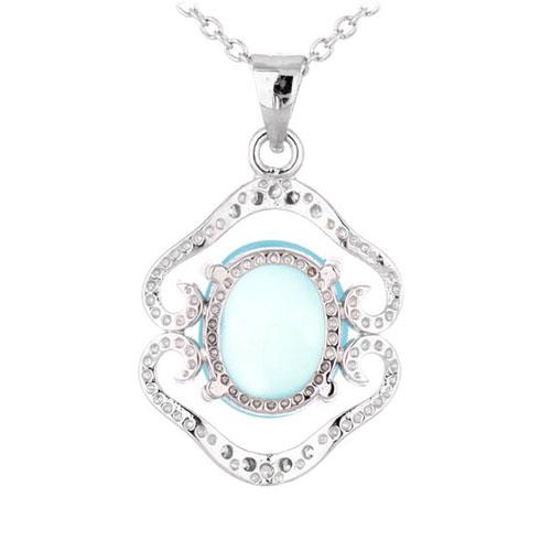 pendentif femme argent zirconium diamant 8300344 pic3