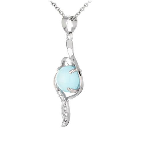 pendentif femme argent zirconium diamant 8300347 pic2