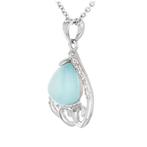 pendentif femme argent zirconium diamant 8300348 pic2