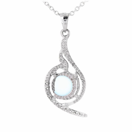 pendentif femme argent zirconium diamant 8300349 pic3