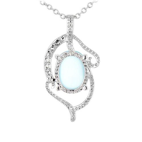 pendentif femme argent zirconium diamant 8300351 pic3