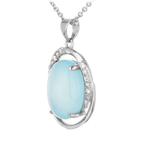 pendentif femme argent zirconium diamant 8300353 pic2