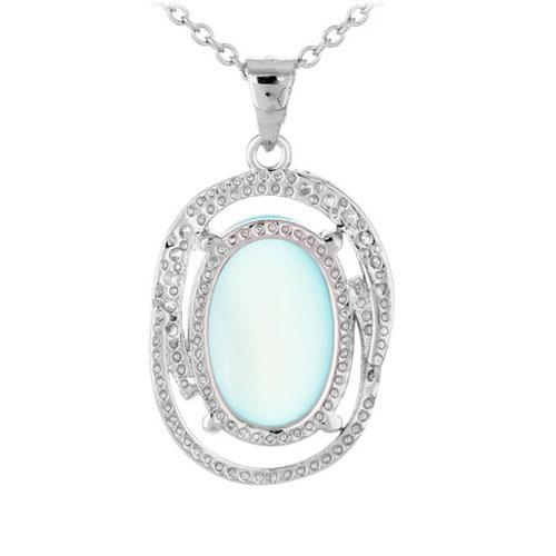 pendentif femme argent zirconium diamant 8300353 pic3