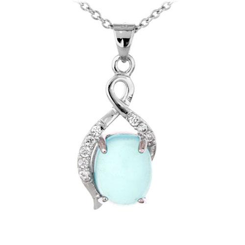 pendentif femme argent zirconium diamant 8300354