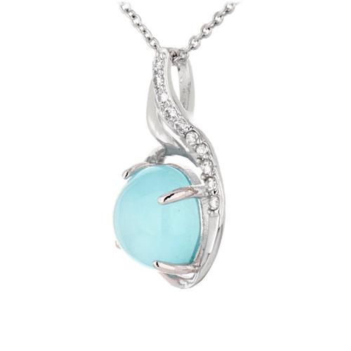 pendentif femme argent zirconium diamant 8300356 pic2