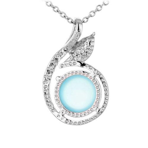 pendentif femme argent zirconium diamant 8300356 pic3