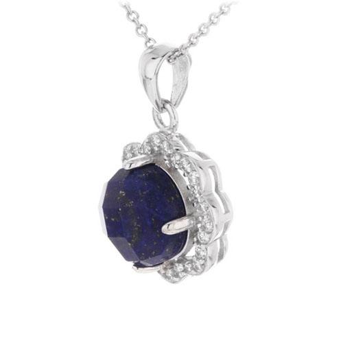 pendentif femme argent zirconium diamant 8300373 pic2