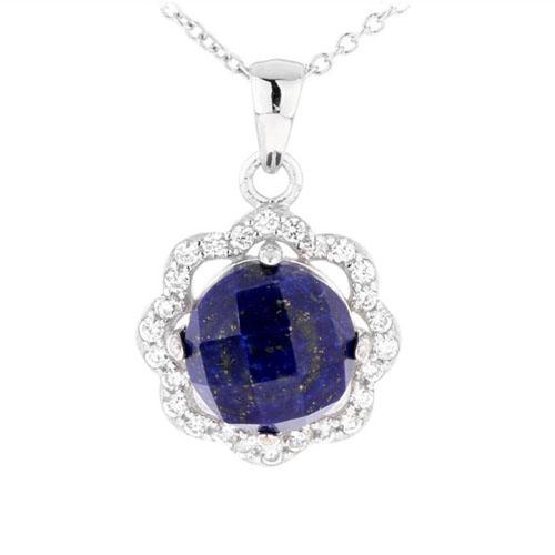 pendentif femme argent zirconium diamant 8300373