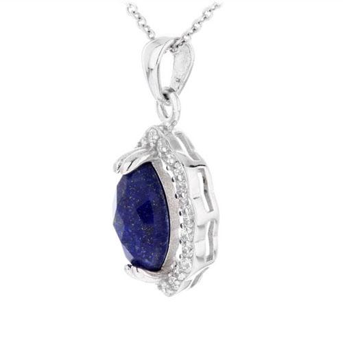 pendentif femme argent zirconium diamant 8300374 pic2