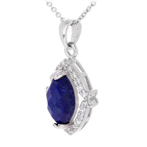 pendentif femme argent zirconium diamant 8300388 pic2