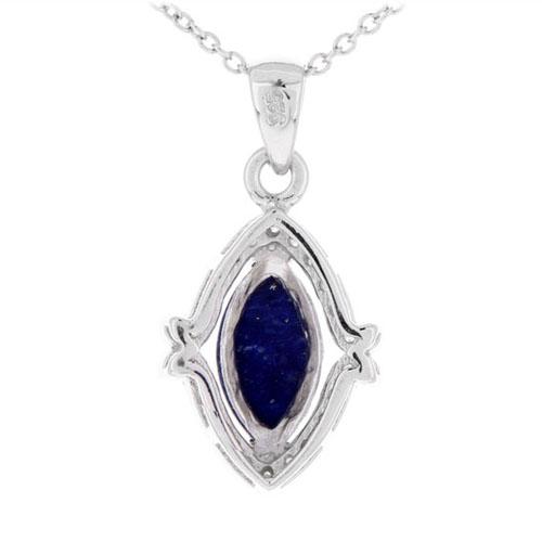 pendentif femme argent zirconium diamant 8300388 pic3