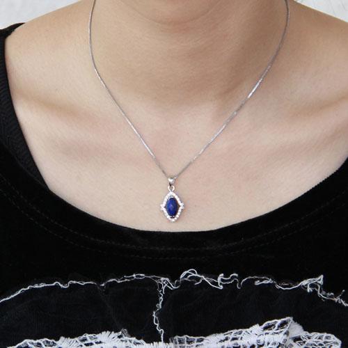 pendentif femme argent zirconium diamant 8300388 pic4