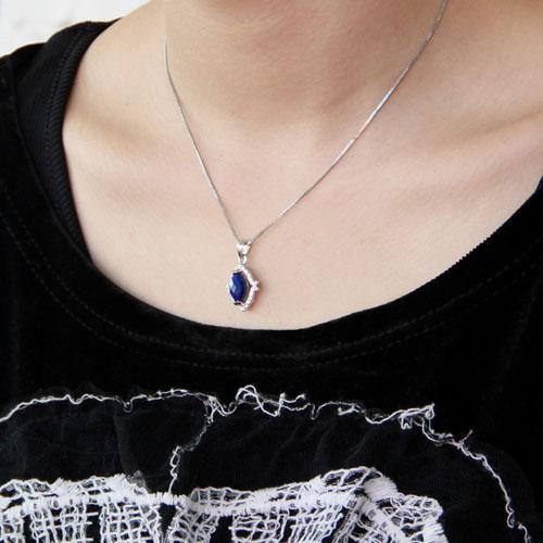 pendentif femme argent zirconium diamant 8300388 pic5