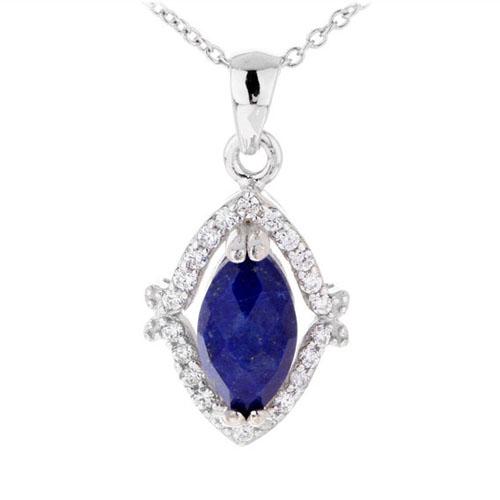 pendentif femme argent zirconium diamant 8300388
