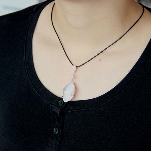 pendentif femme argent zirconium diamant 8300397 pic5