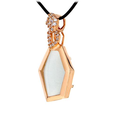 pendentif femme argent zirconium diamant 8300399 pic2