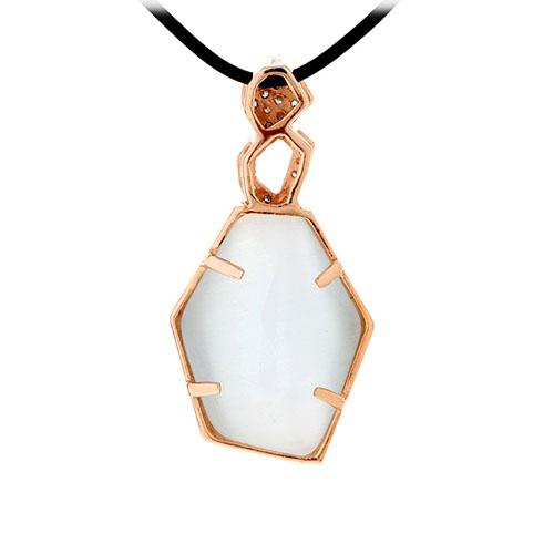 pendentif femme argent zirconium diamant 8300399 pic3
