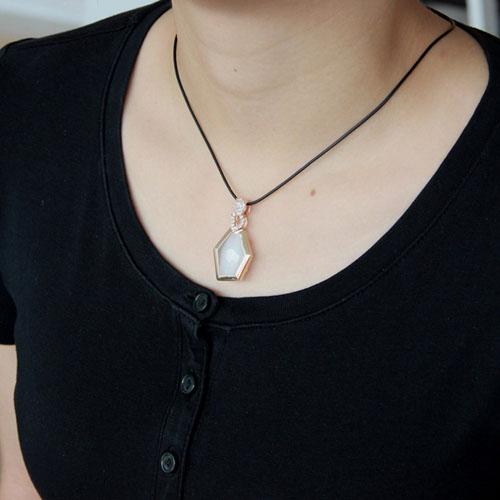 pendentif femme argent zirconium diamant 8300399 pic5