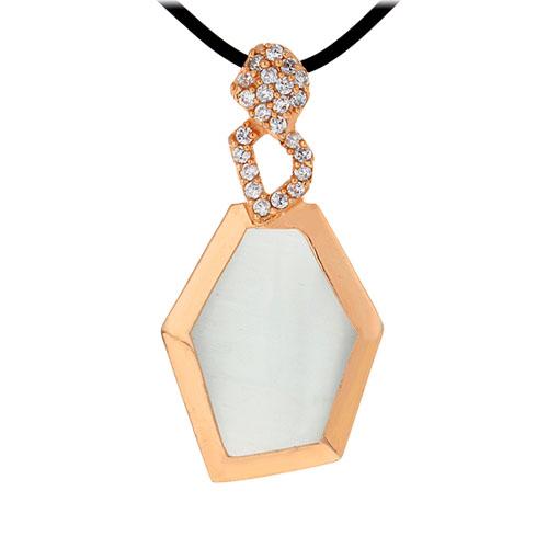 pendentif femme argent zirconium diamant 8300399