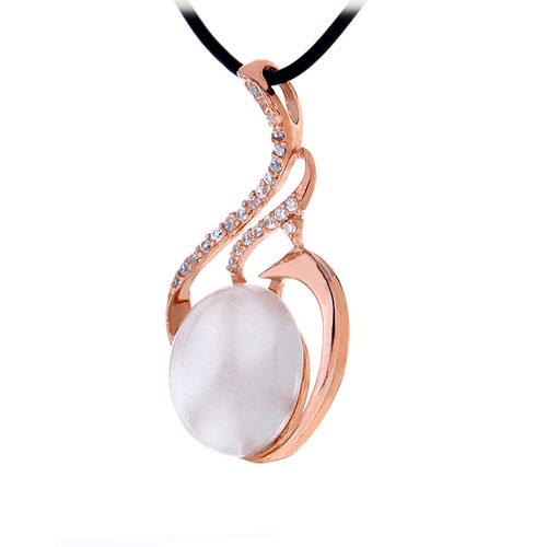 pendentif femme argent zirconium diamant 8300400 pic2