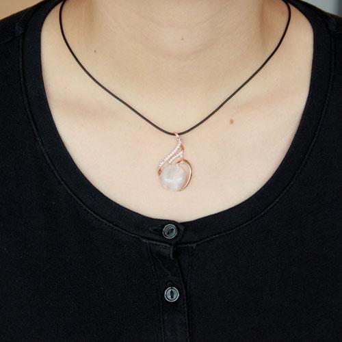pendentif femme argent zirconium diamant 8300400 pic4