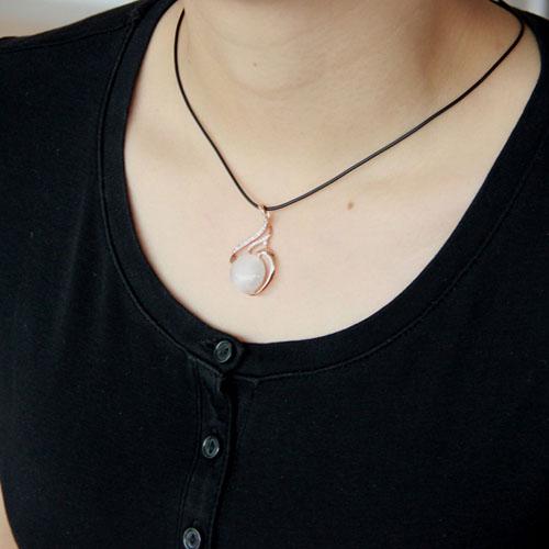 pendentif femme argent zirconium diamant 8300400 pic5