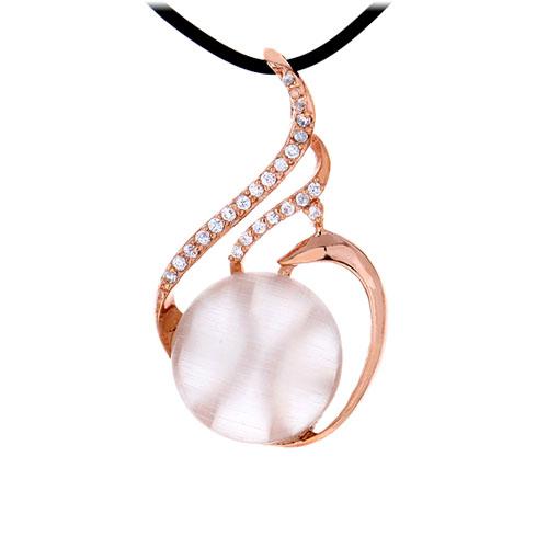 pendentif femme argent zirconium diamant 8300400