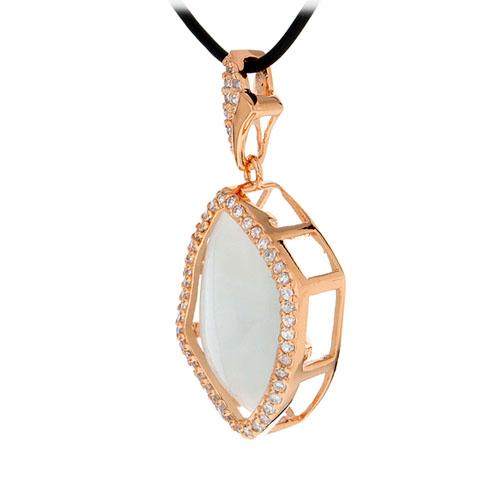 pendentif femme argent zirconium diamant 8300401 pic2
