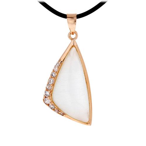 pendentif femme argent zirconium diamant 8300402