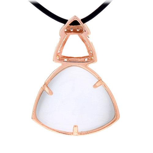 pendentif femme argent zirconium diamant 8300404 pic3