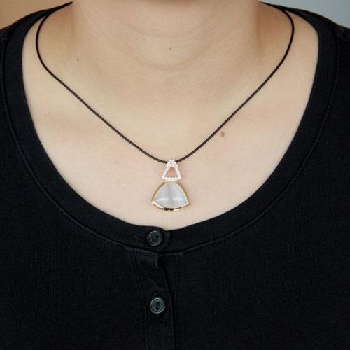 pendentif femme argent zirconium diamant 8300404 pic4