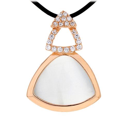 pendentif femme argent zirconium diamant 8300404