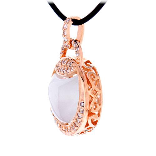 pendentif femme argent zirconium diamant 8300405 pic2