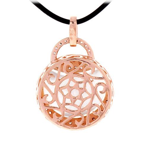 pendentif femme argent zirconium diamant 8300405 pic3