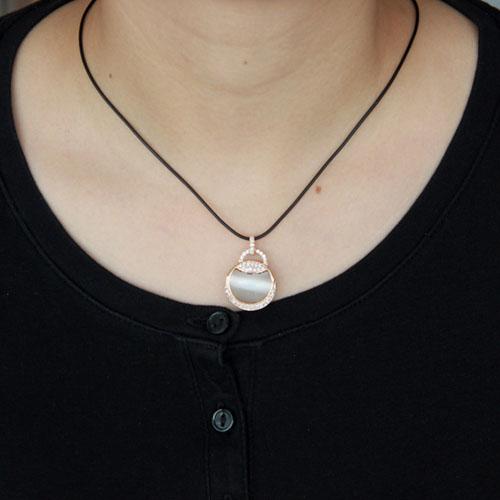 pendentif femme argent zirconium diamant 8300405 pic4