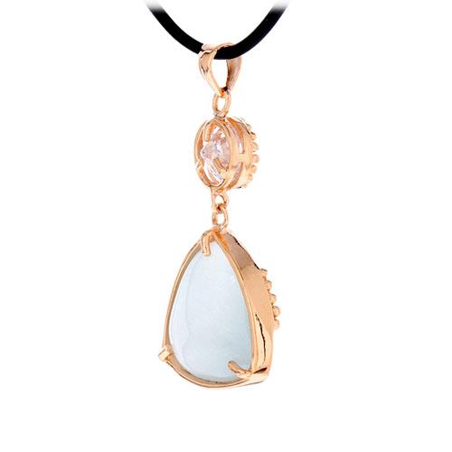 pendentif femme argent zirconium diamant 8300406 pic2