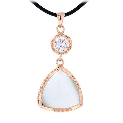 pendentif femme argent zirconium diamant 8300406 pic3
