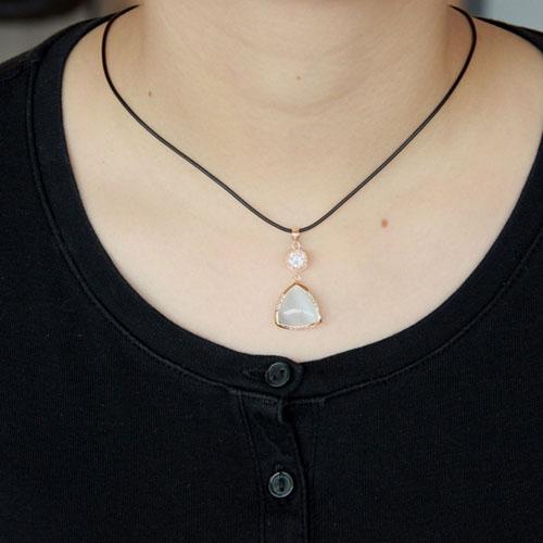 pendentif femme argent zirconium diamant 8300406 pic4