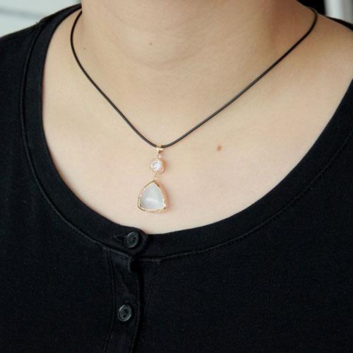 pendentif femme argent zirconium diamant 8300406 pic5