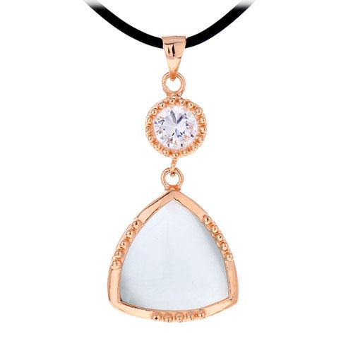 pendentif femme argent zirconium diamant 8300406