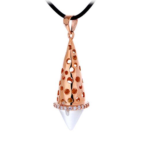 pendentif femme argent zirconium diamant 8300409 pic2
