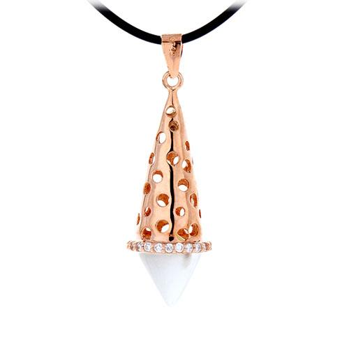 pendentif femme argent zirconium diamant 8300409 pic3